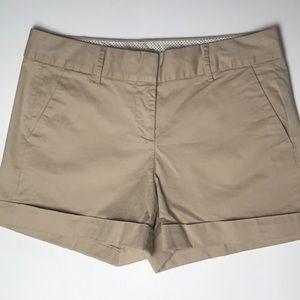 CREMIEUX Classic Khaki Chino Shorts Like New Sz 10